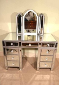 00914-Gorgeous-Art-Deco-Mirrored-Dressing-Table-with-Mirror-13