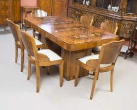 While it is always best to consult an expert, there are things you can look for in antique dining tables to make sure they are in fact antiques.