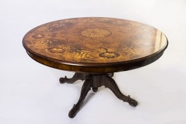 06332-Victorian-Style-Burr-Walnut-Marquetry-Dining-Table-5ft-10