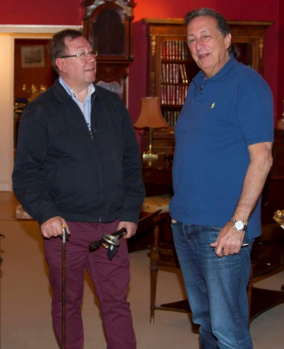Bryns Advice On London Travel Gavin Stacey Bbc: BBC Celebrity Antiques Road Trip Makes A Stop At Regent
