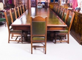 An Antique Boardroom Table Thats Bound To Impress Regent Antiques - Large boardroom table