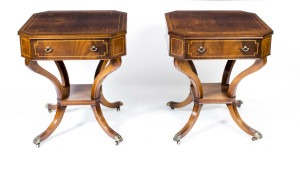 06698-Antique-Pair-Flame-Mahogany-Occasional-Tables-c.1920-1