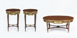 06913a-Stunning-Pair-Empire-Occasional-Tables-&-Coffee-table-1
