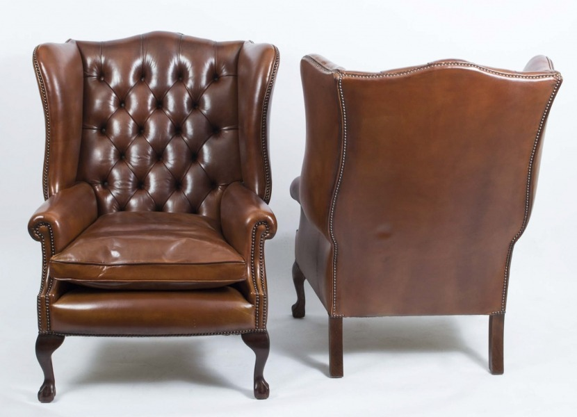 06566-pair-leather-ball-claw-wing-chairs-armchairs-3