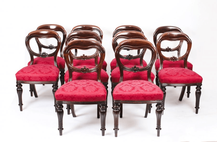 Why You need these Victorian Balloon Back Chairs?