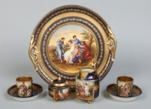 Sublime Antique Vienna Porcelain