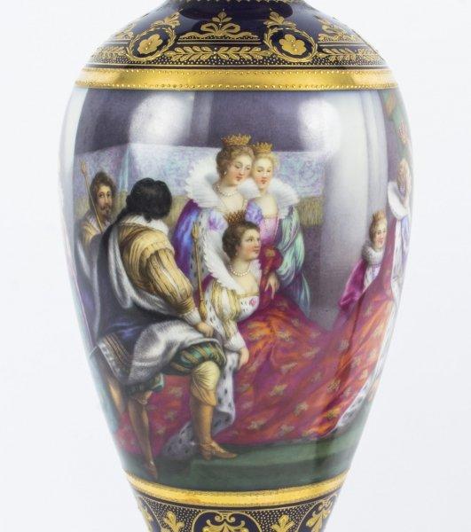 Sublime Antique Vienna Porcelain