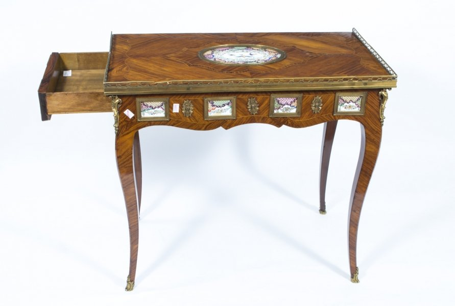 Fine Antique Writing Tables Offer Comfort and Elegance