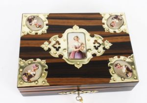 Magnificent Antique Coromandel Wood Boxes