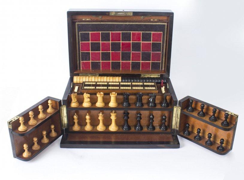 Magnificent Antique Coromandel Wood Boxes