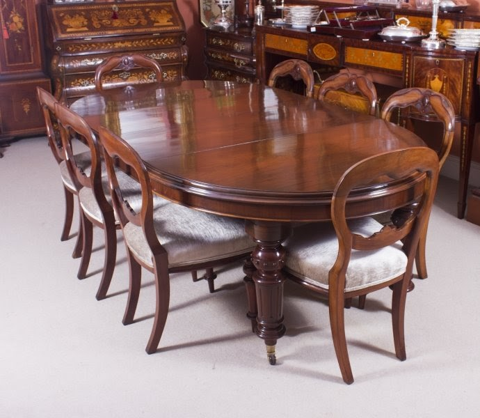 Truly Magnificent Antique Victorian Dining Tables