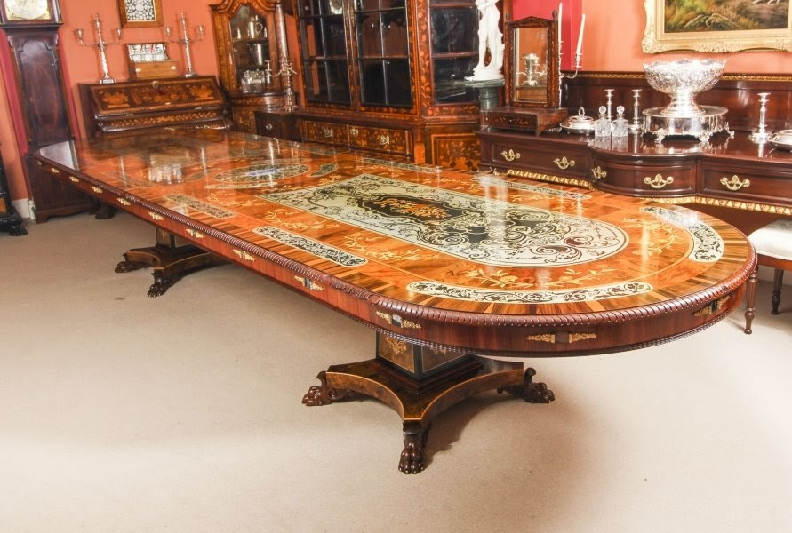 The Glamour of Bespoke Marquetry Furniture at Regent Antiques