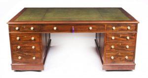 Magnificent Antique Partners Desks at Regent Antiques