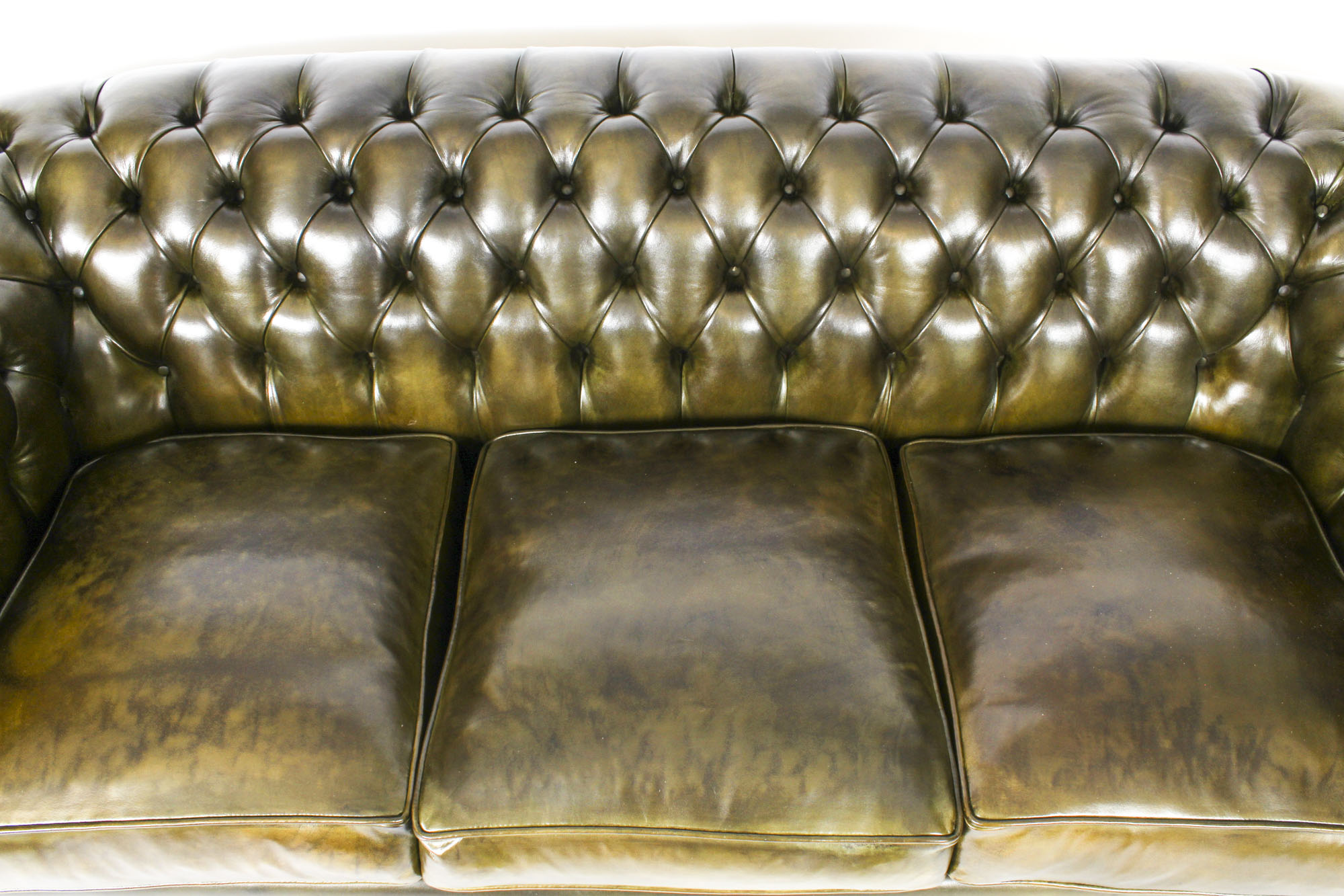 Stunning Bespoke Leather Sofas from Regent Antiques