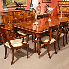 Antique dining table & chair sets