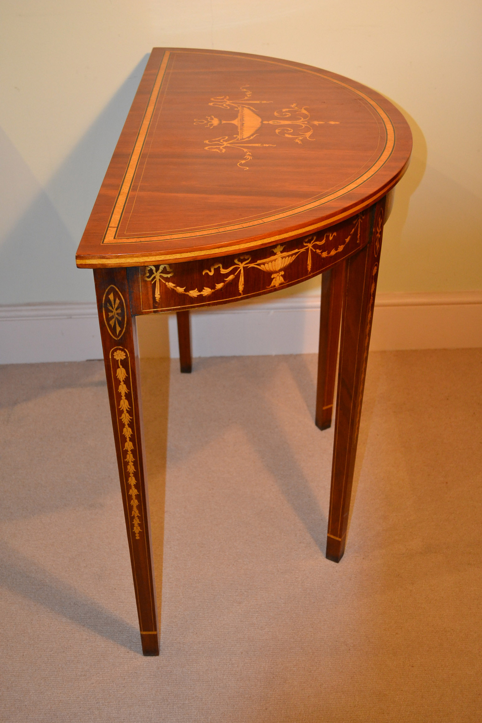 Unique coffee tables occasional - Regent Antiques Console Tables Pair Of Sheraton
