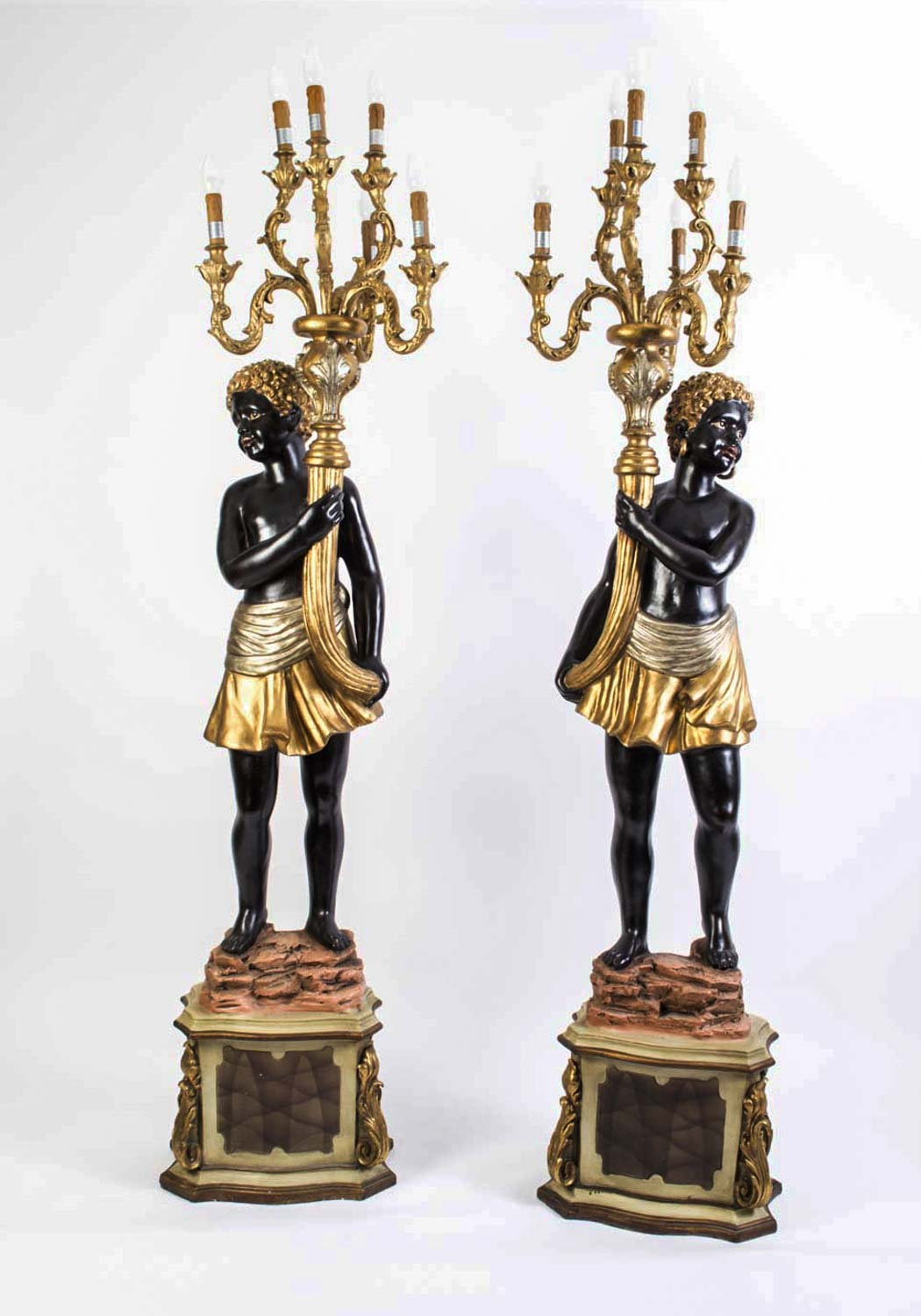 Pair 6ft 3 Quot Blackamoor Ref No 00875 Regent Antiques