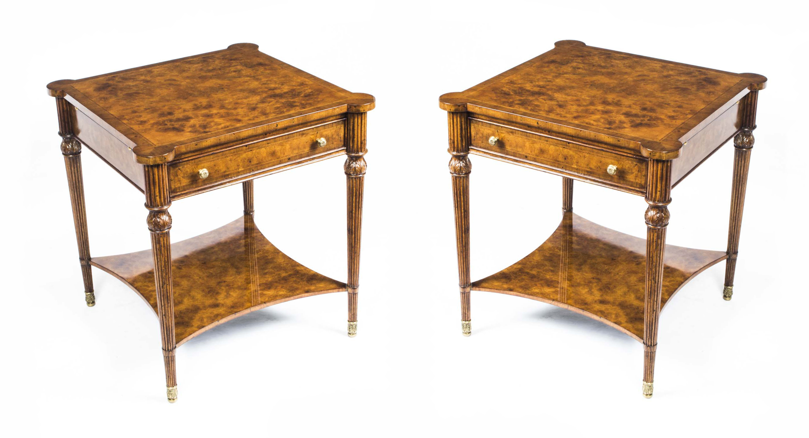 Regent antiques occasional and side tables fab pair for Occasional table with drawers