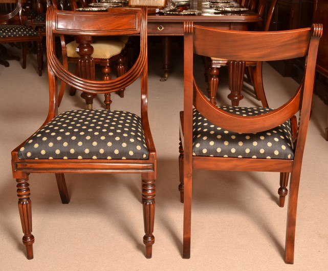 regent antiques dining tables and chairs table and chair sets burr walnut 10ft regency. Black Bedroom Furniture Sets. Home Design Ideas