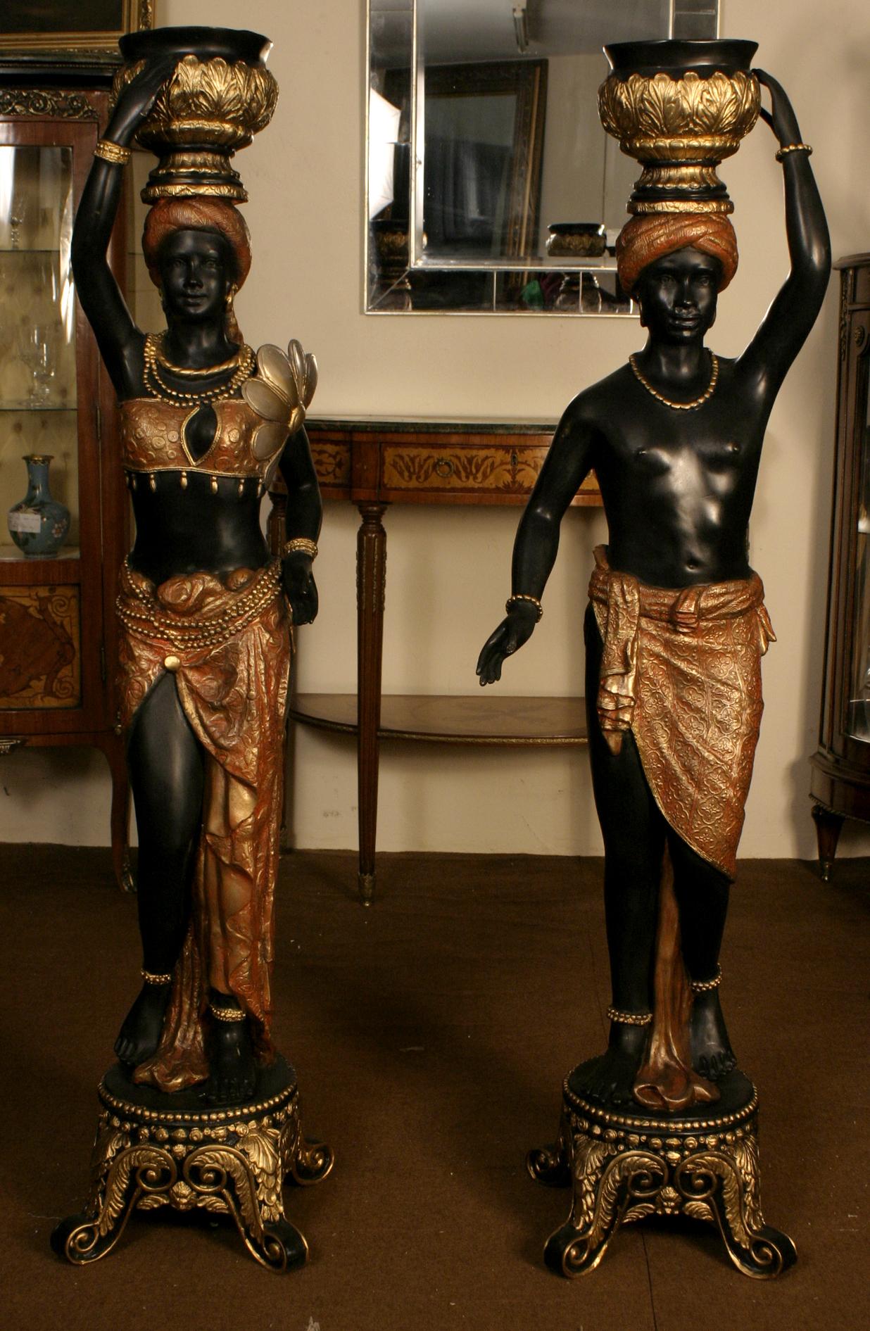 Pair Beautiful Gilded Ref No 00973 Regent Antiques