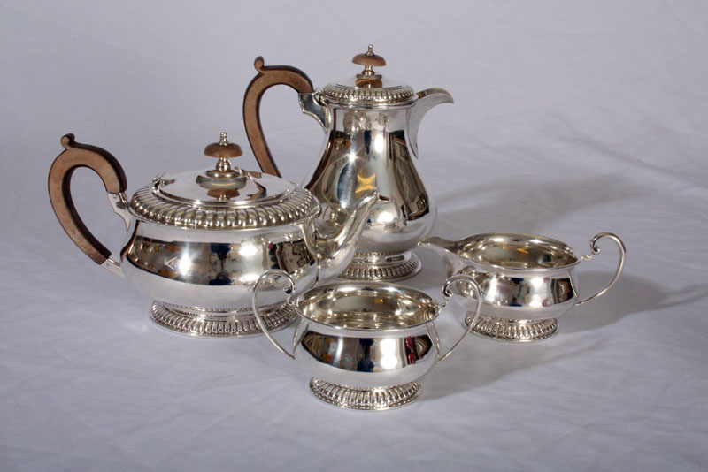 Rare Antique Harrods Silver Tea Amp Coffee Set C 1930 Ref