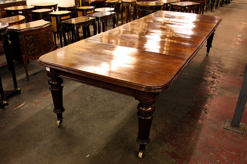 12 ft antique victorian extending dining table for 12 ft table