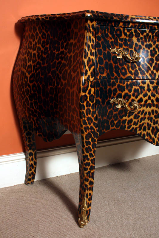 Regent Antiques Sideboards Funky Chic Leopard Pattern