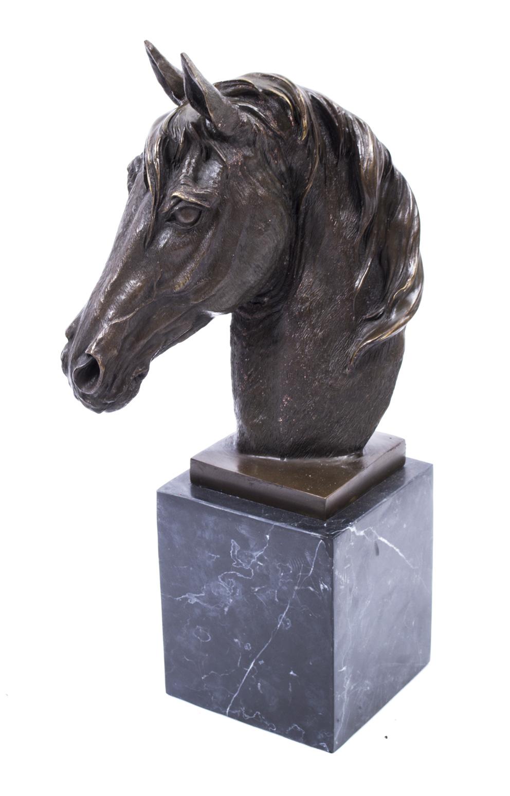 Beautiful Bronze Horse Ref No 02477 Regent Antiques