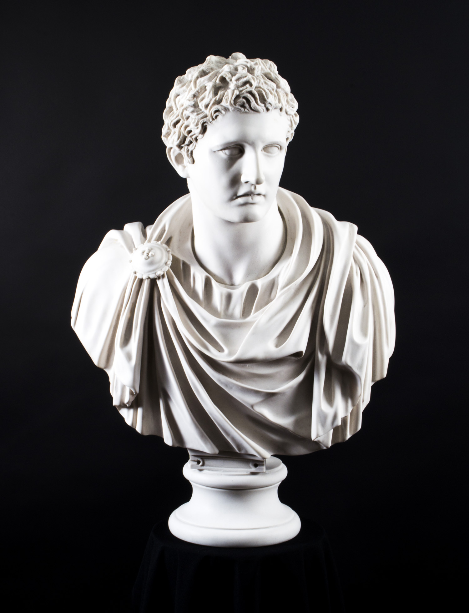 Regent Antiques Marble Stunning Marble Bust Roman