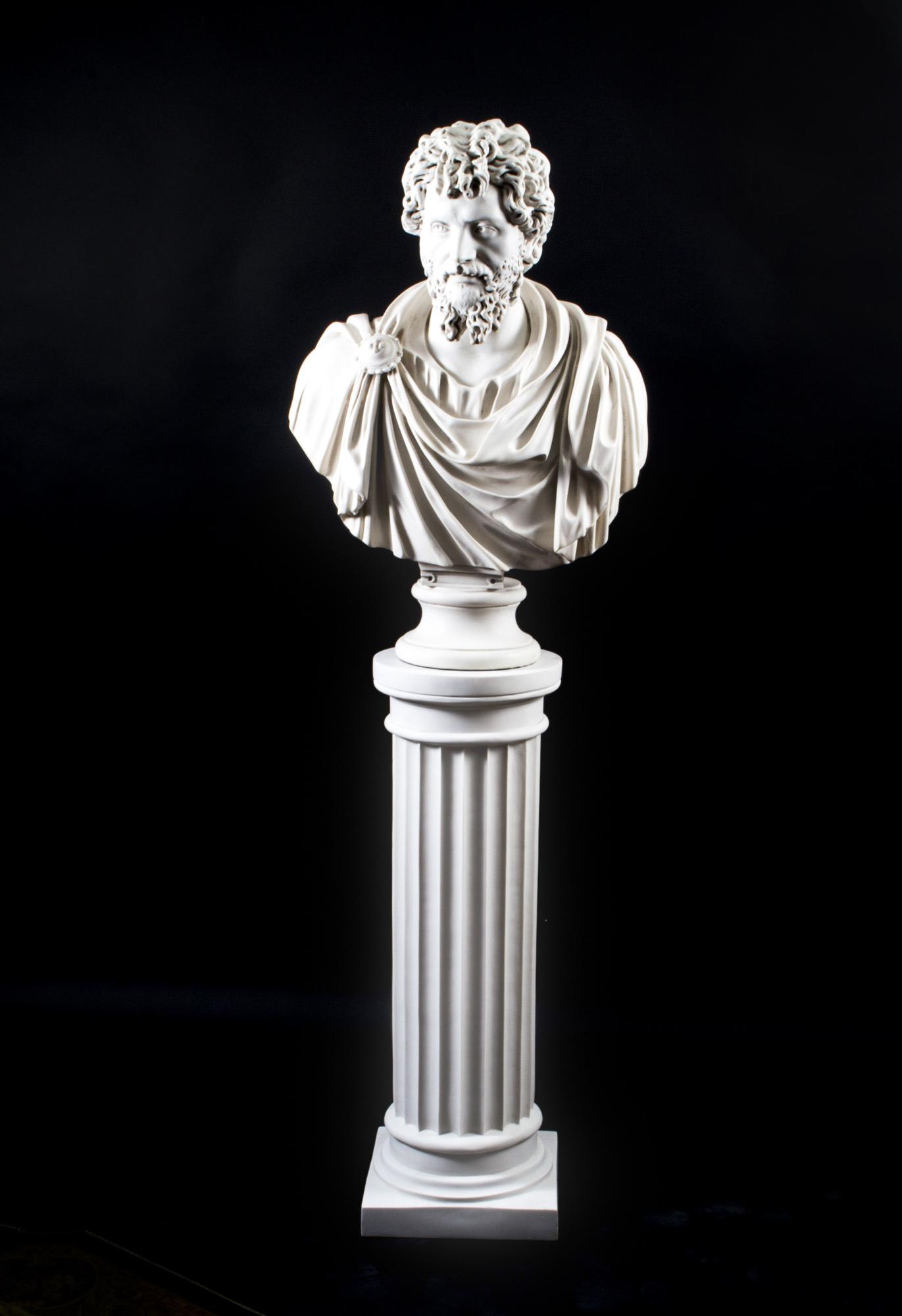 Regent Antiques Marble Marble Bust Amp Pedestal Roman