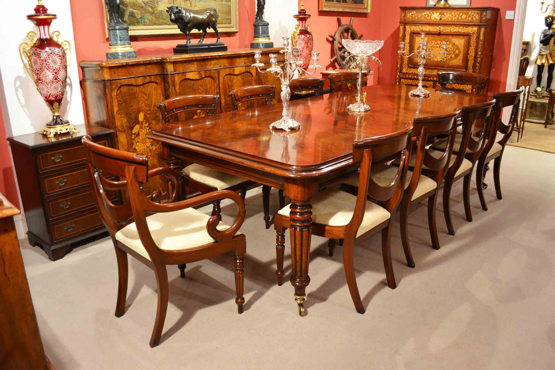 Regent Antiques Dining Tables And Chairs Table And Chair Sets English Regency Dining Table