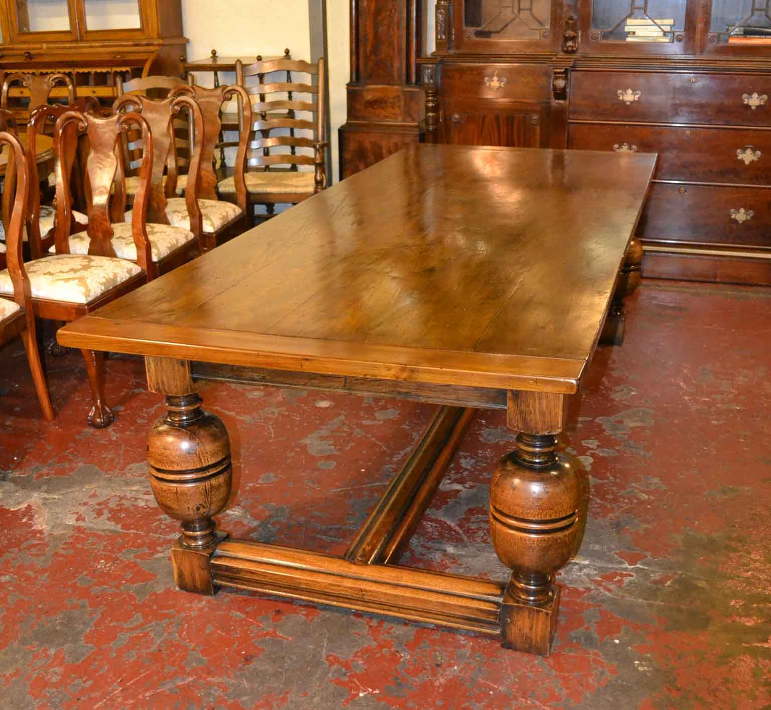 Regent Antiques Dining Tables And Chairs Tables Vintage Solid Oak Refec