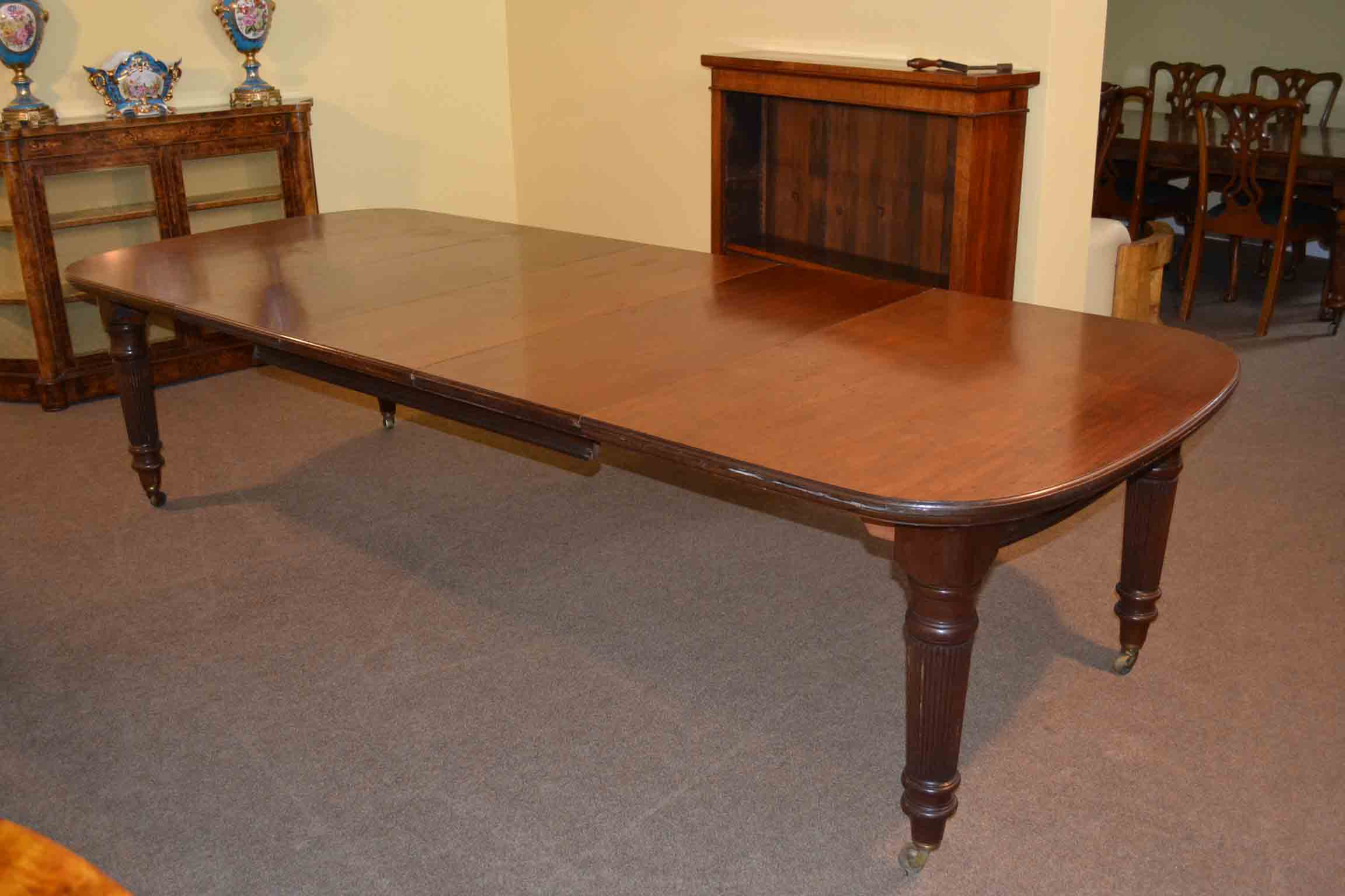 Antique Maple Dining Room Set 10ft Antique Victorian Dining Table C1880 By Maple Co