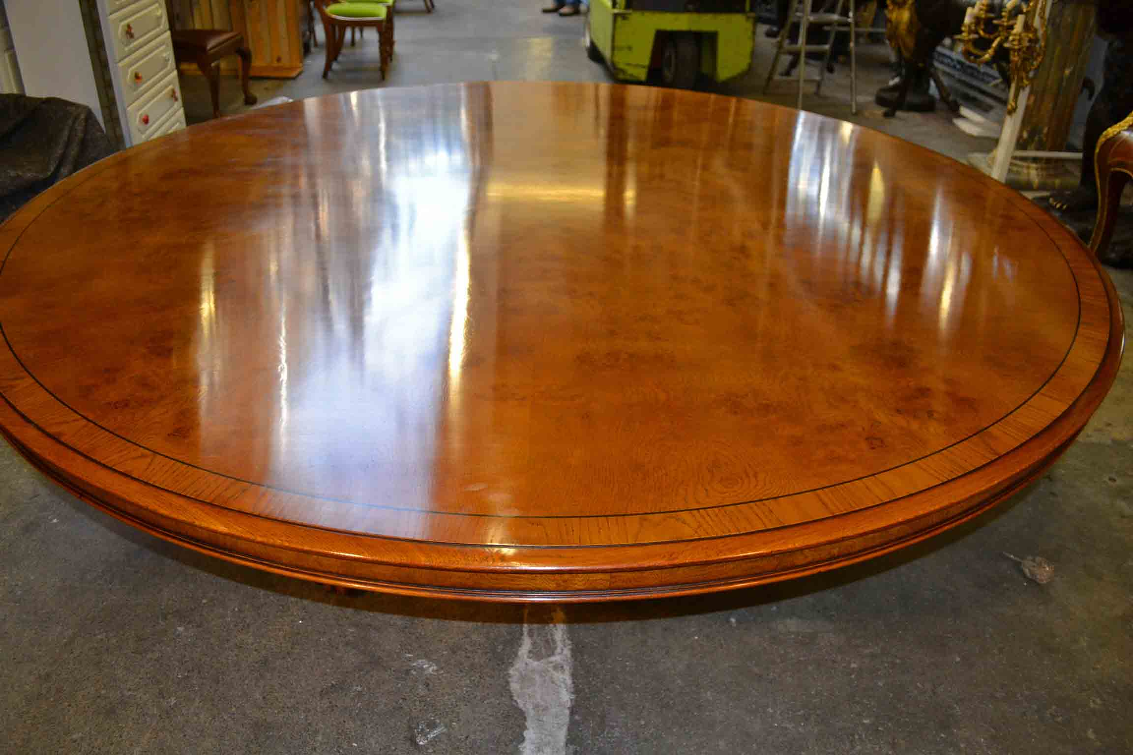 Regent antiques dining tables and chairs tables for 10 foot round table