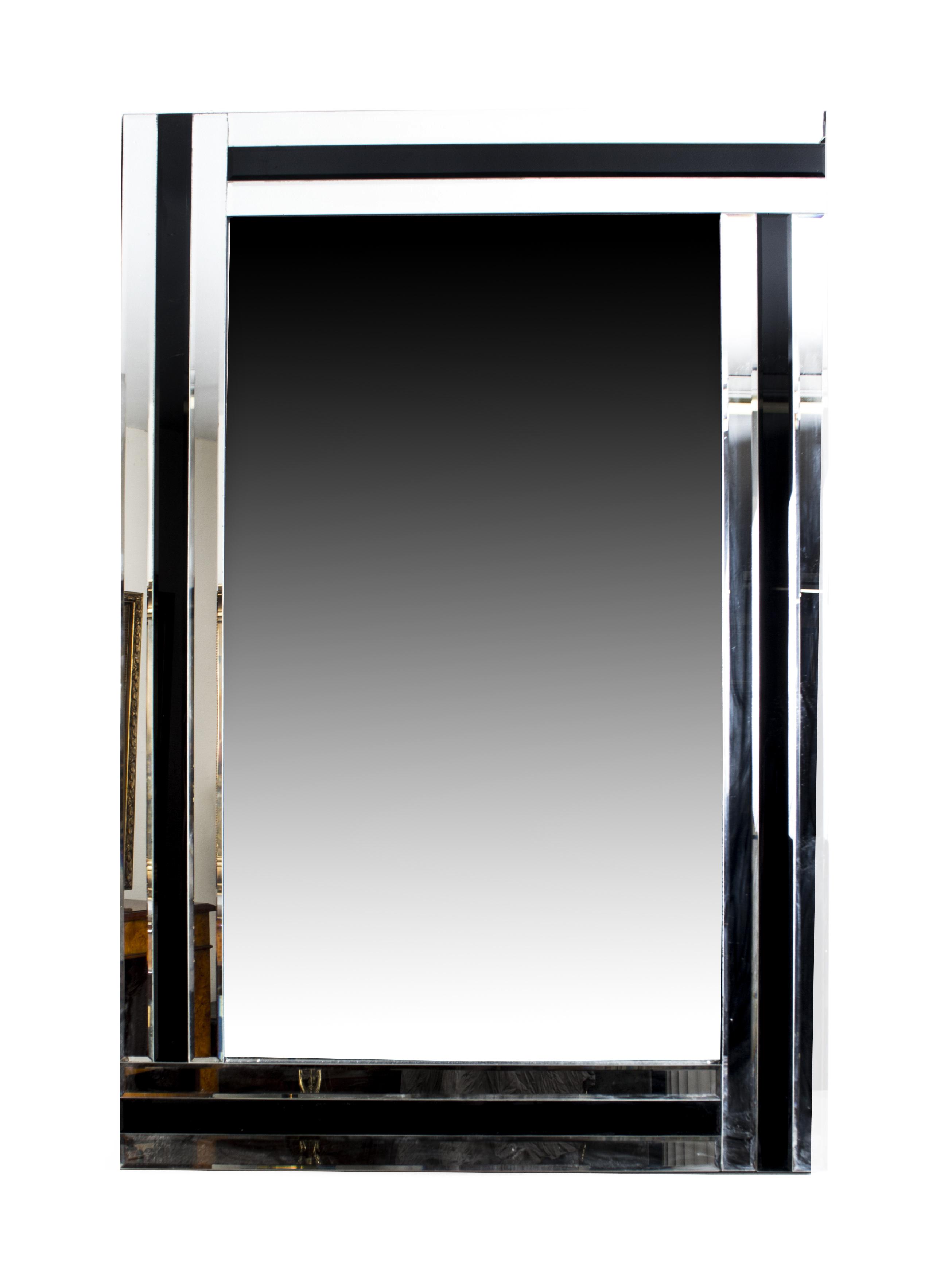 Absolutely stunning rectangular art deco mirror 120 x 90 for Miroir 90 x 120
