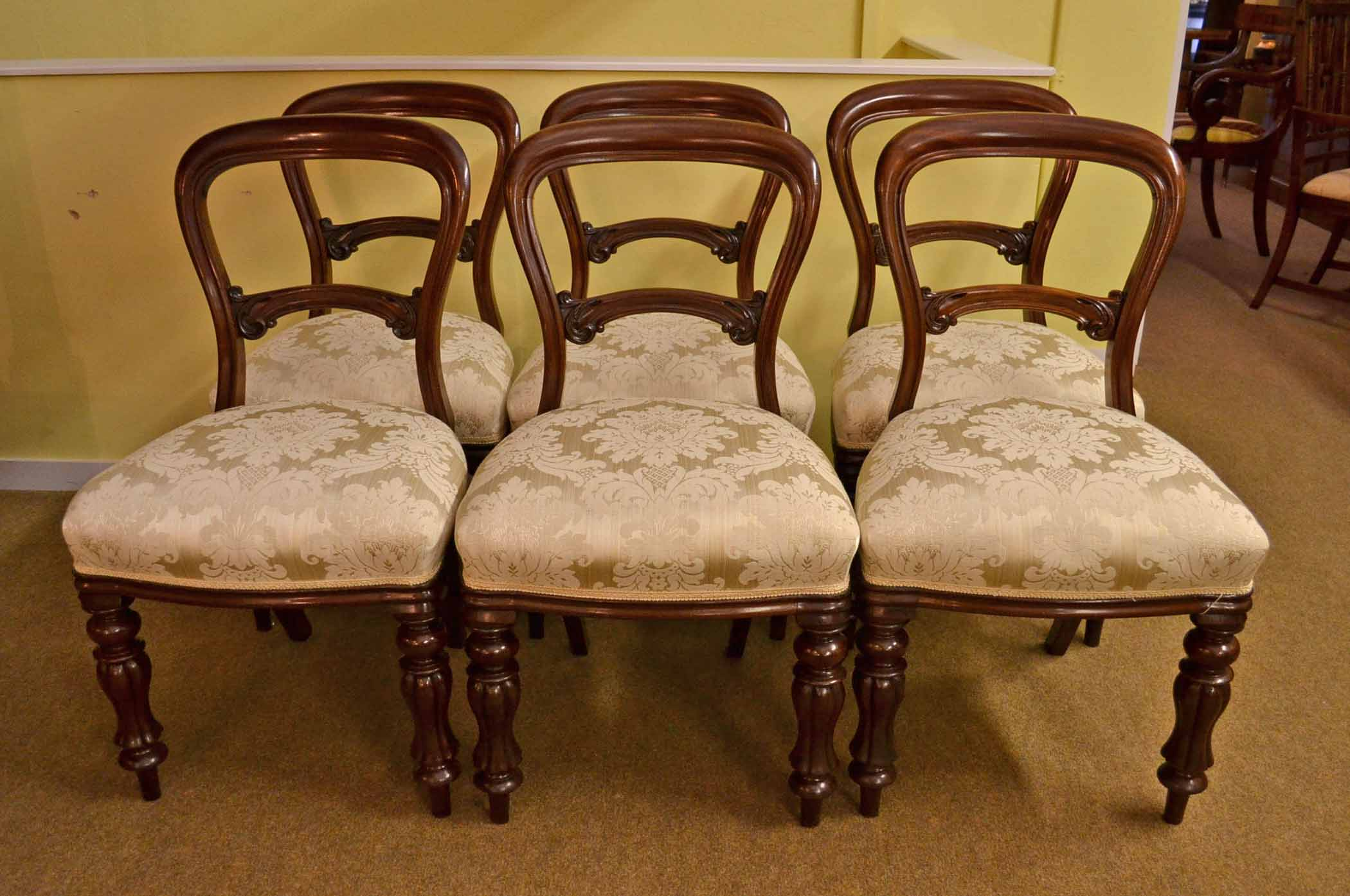 Antique victorian dining chairs - Antique Victorian Dining Chairs 7