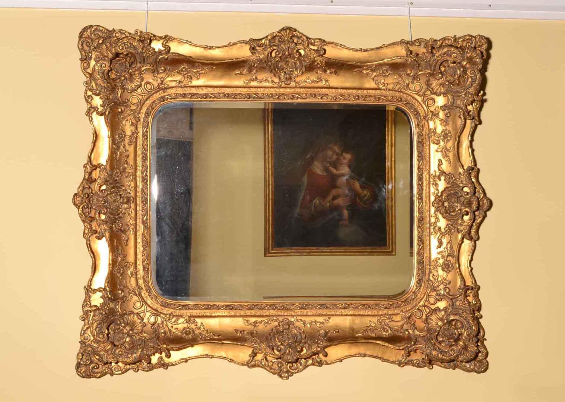 Regent antiques mirrors stunning large ornate italian for Ornate mirror