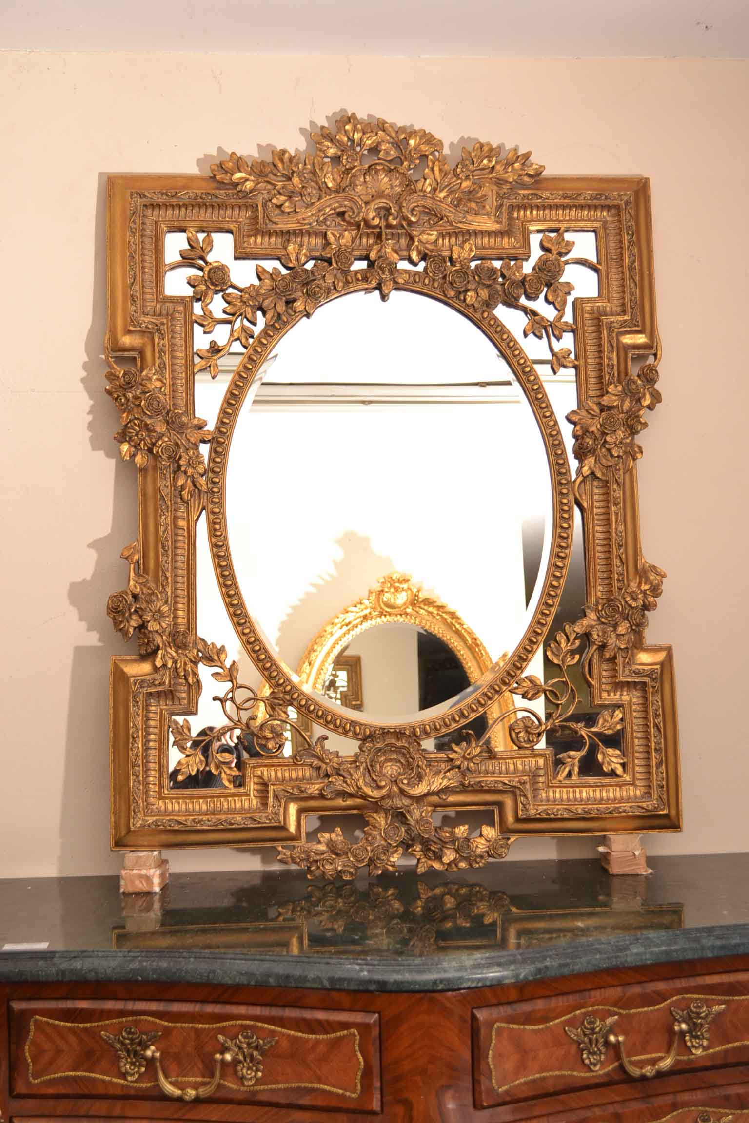 Regent Antiques Mirrors Beautiful Ornate Large Italian