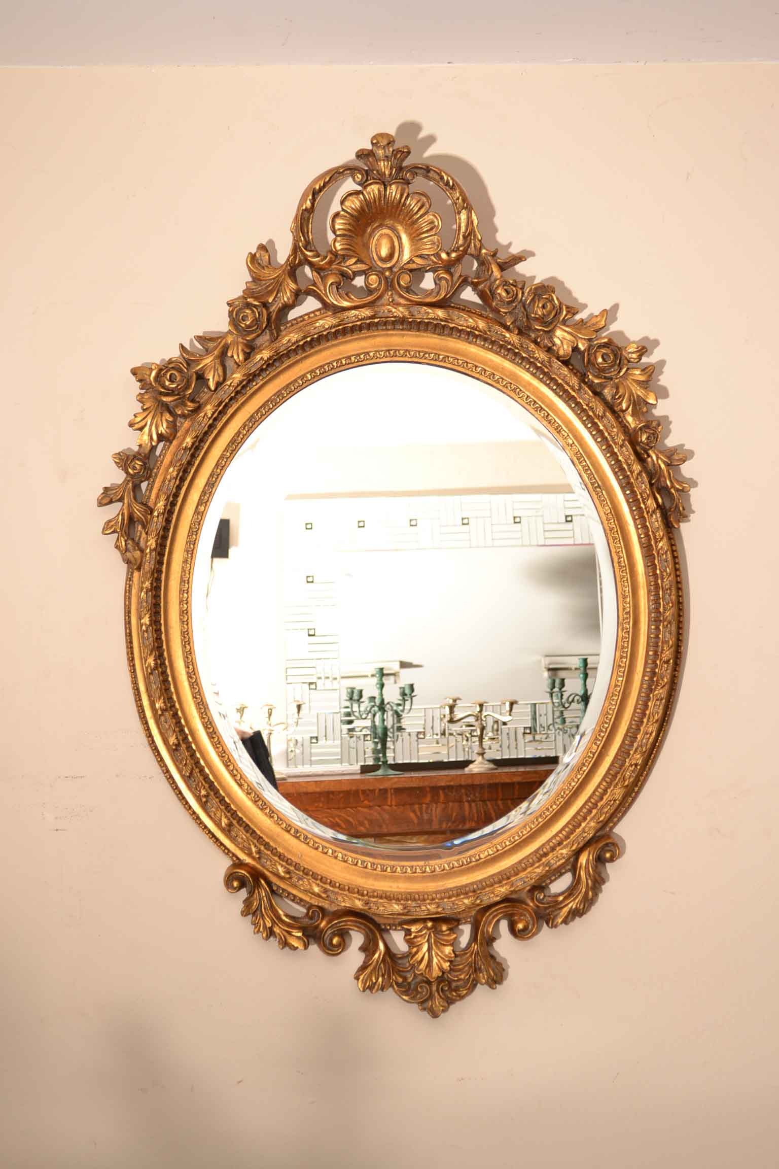 Regent antiques mirrors beautiful large italian gilded for Decorative mirrors