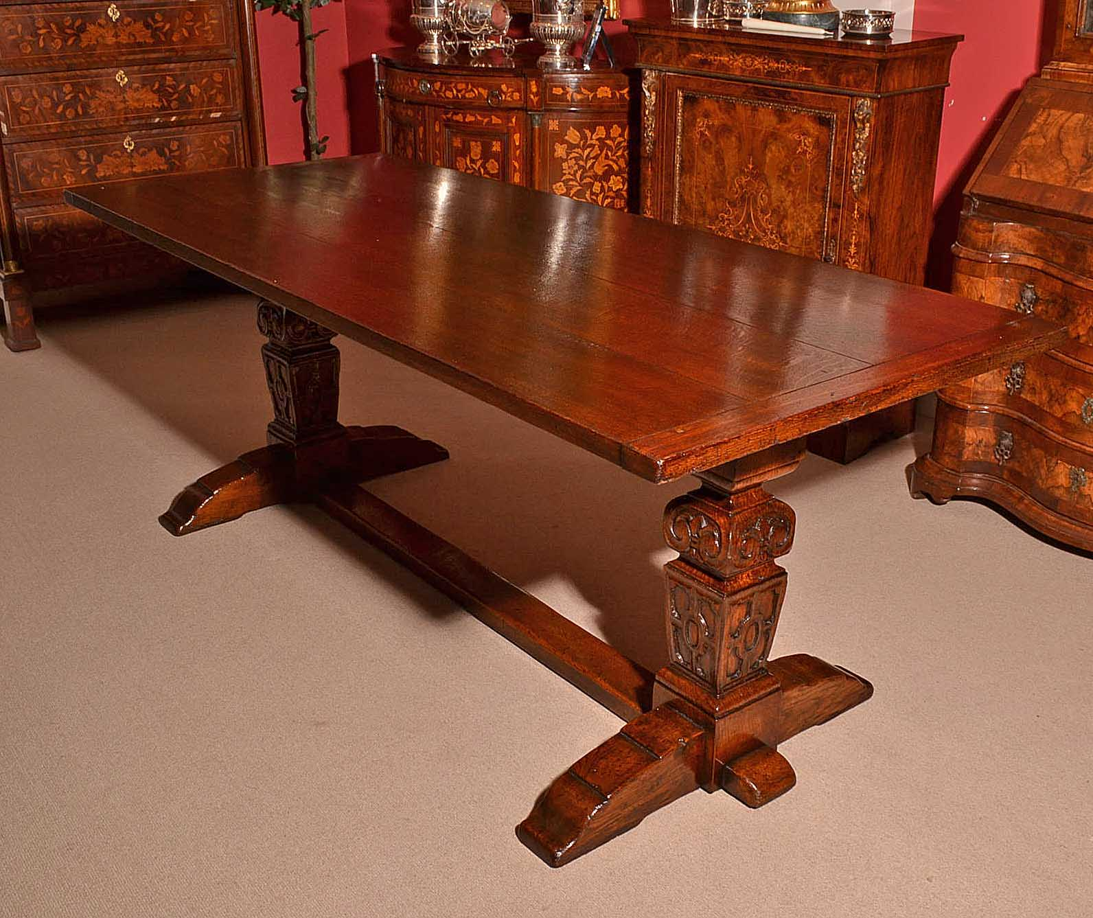 Antique Large Solid Oak Ref No 03745 Regent Antiques
