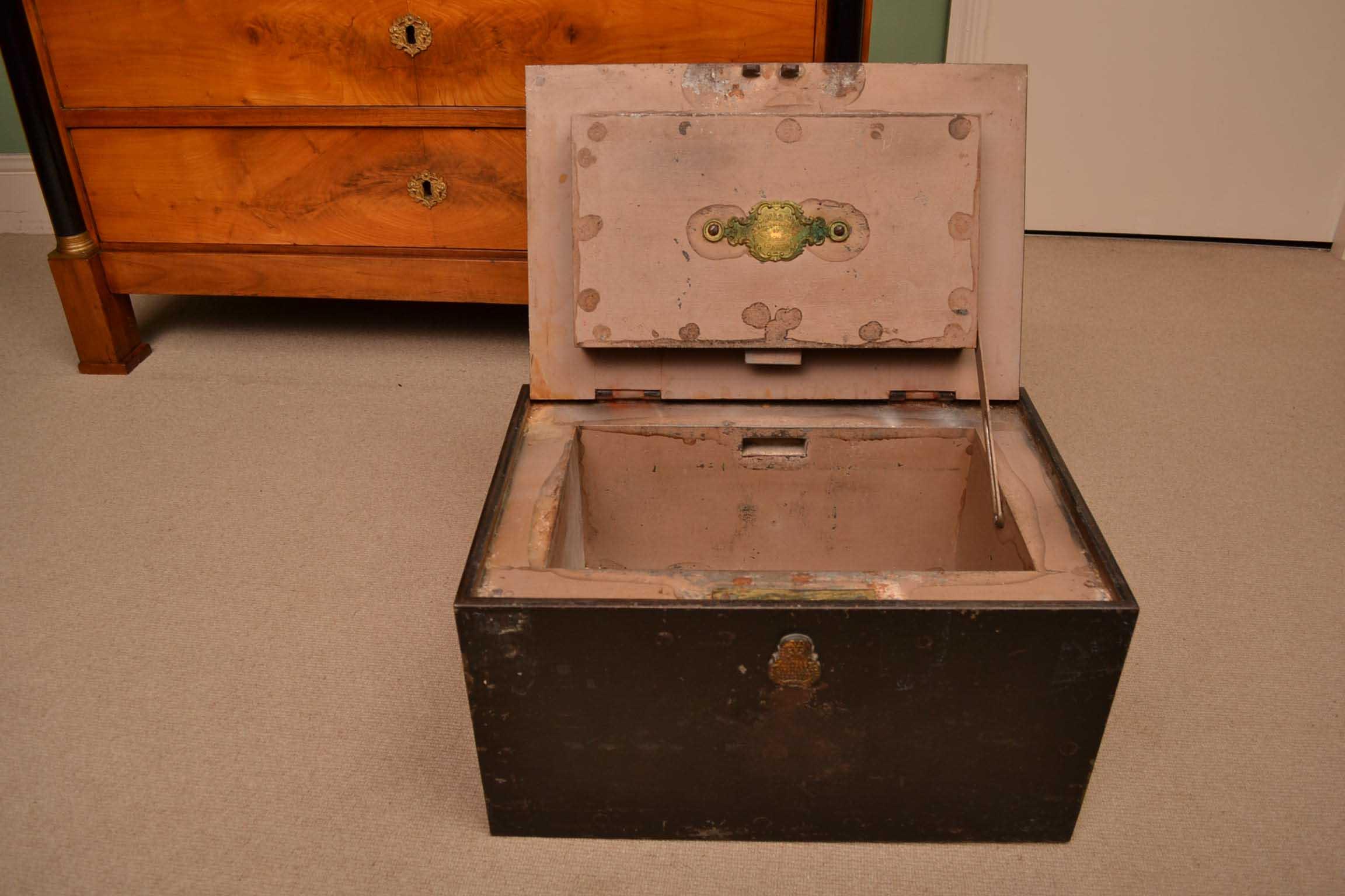 Regent Antiques Boxes Antique Victorian Strong Box By