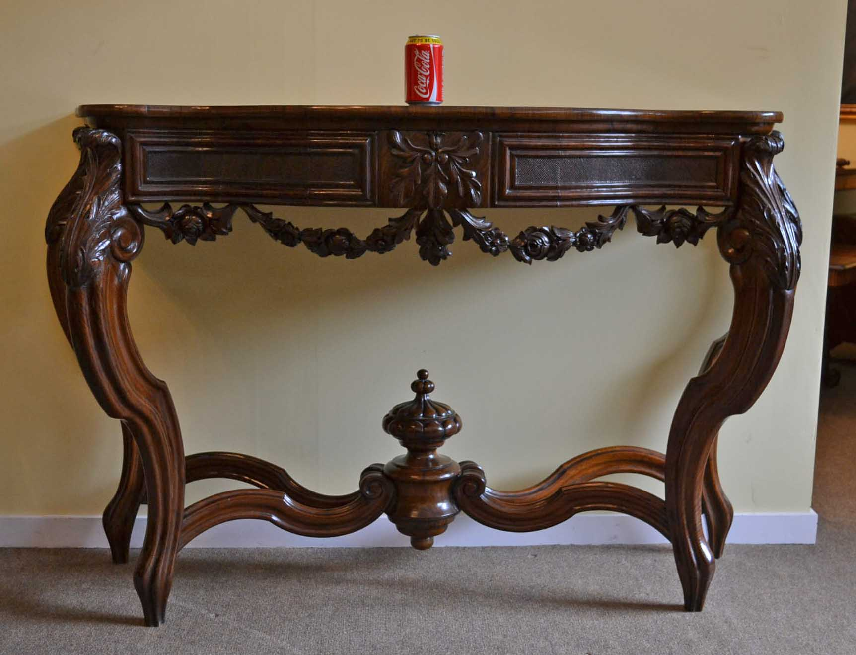 regent antiques occasional and side tables antique french walnut console table c1840. Black Bedroom Furniture Sets. Home Design Ideas