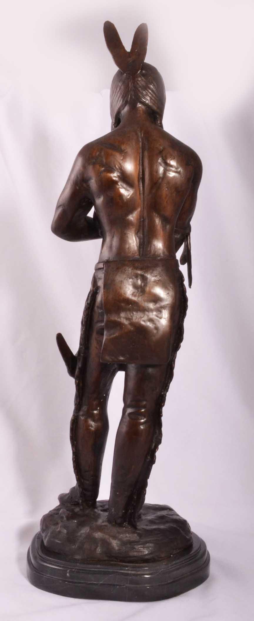 Regent Antiques Bronzes Native American Indian Bronze