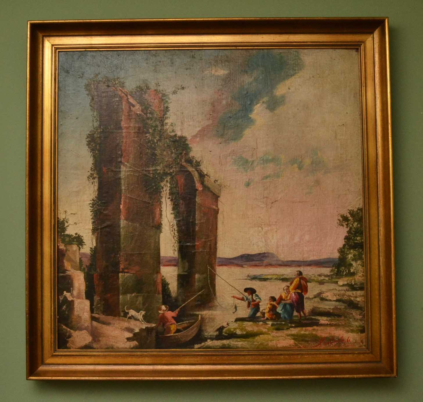 Vintage Oil Painting Ref No 03804 Regent Antiques