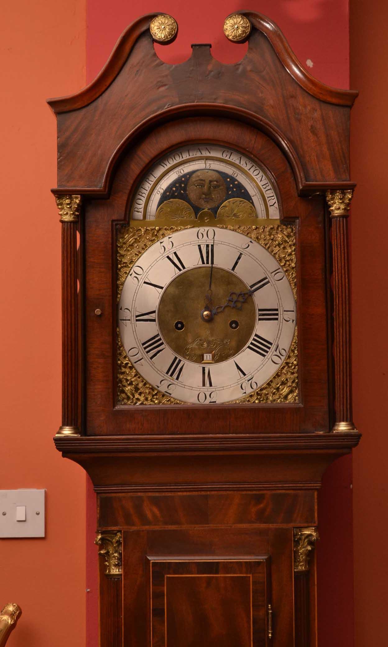 Regent Antiques Clocks Antique Grandfather Clock R