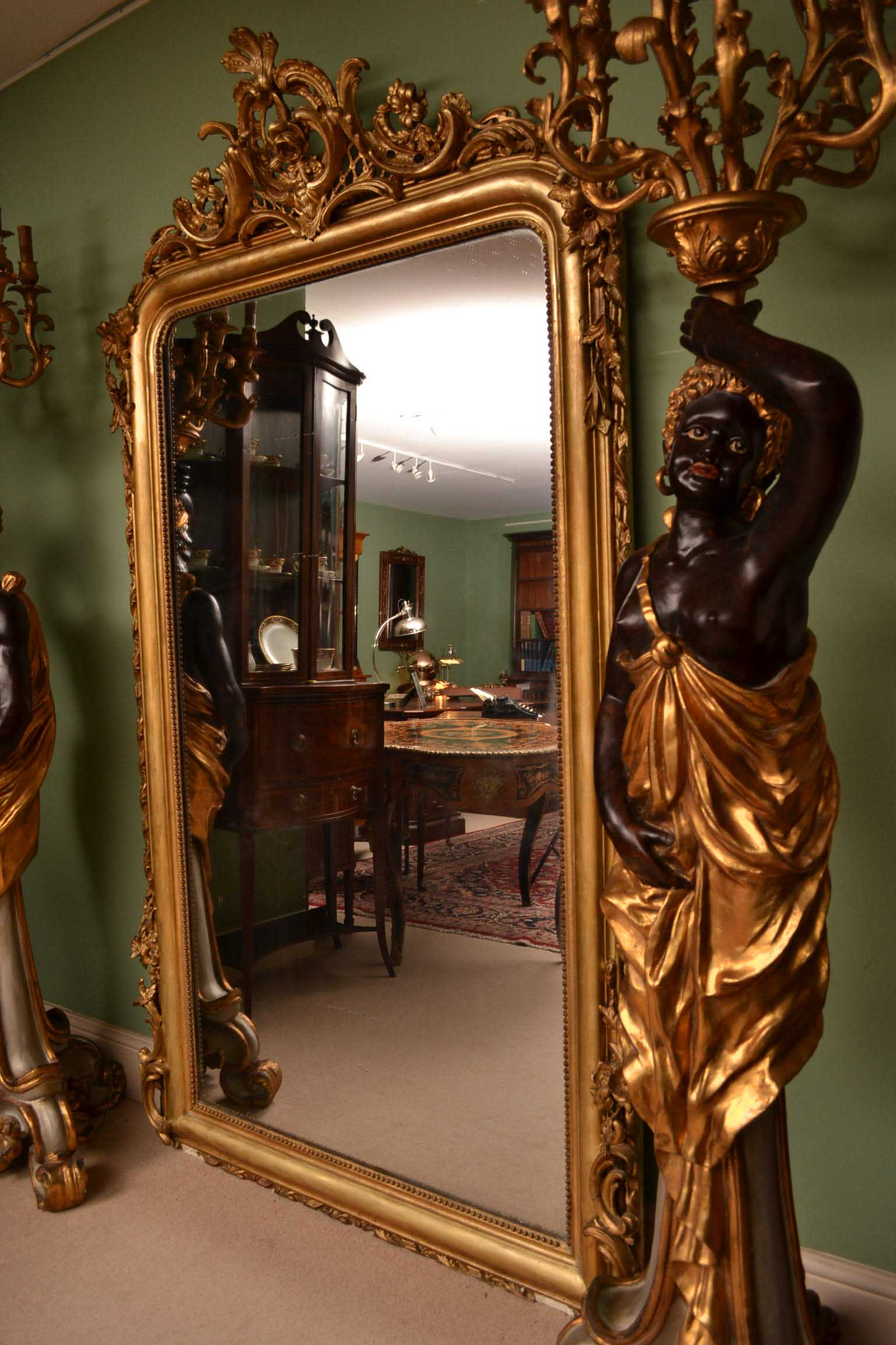 Regent Antiques Mirrors Antique Elegant French