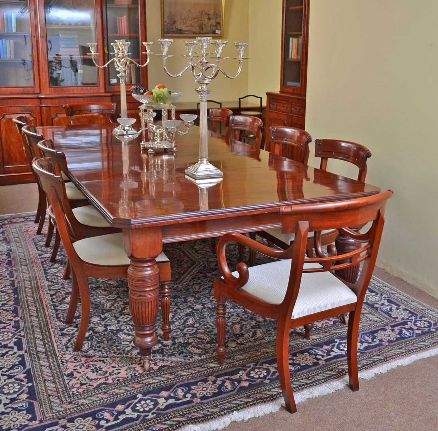 Antique Dining Room Table Chairs: Dining Tables And Chairs