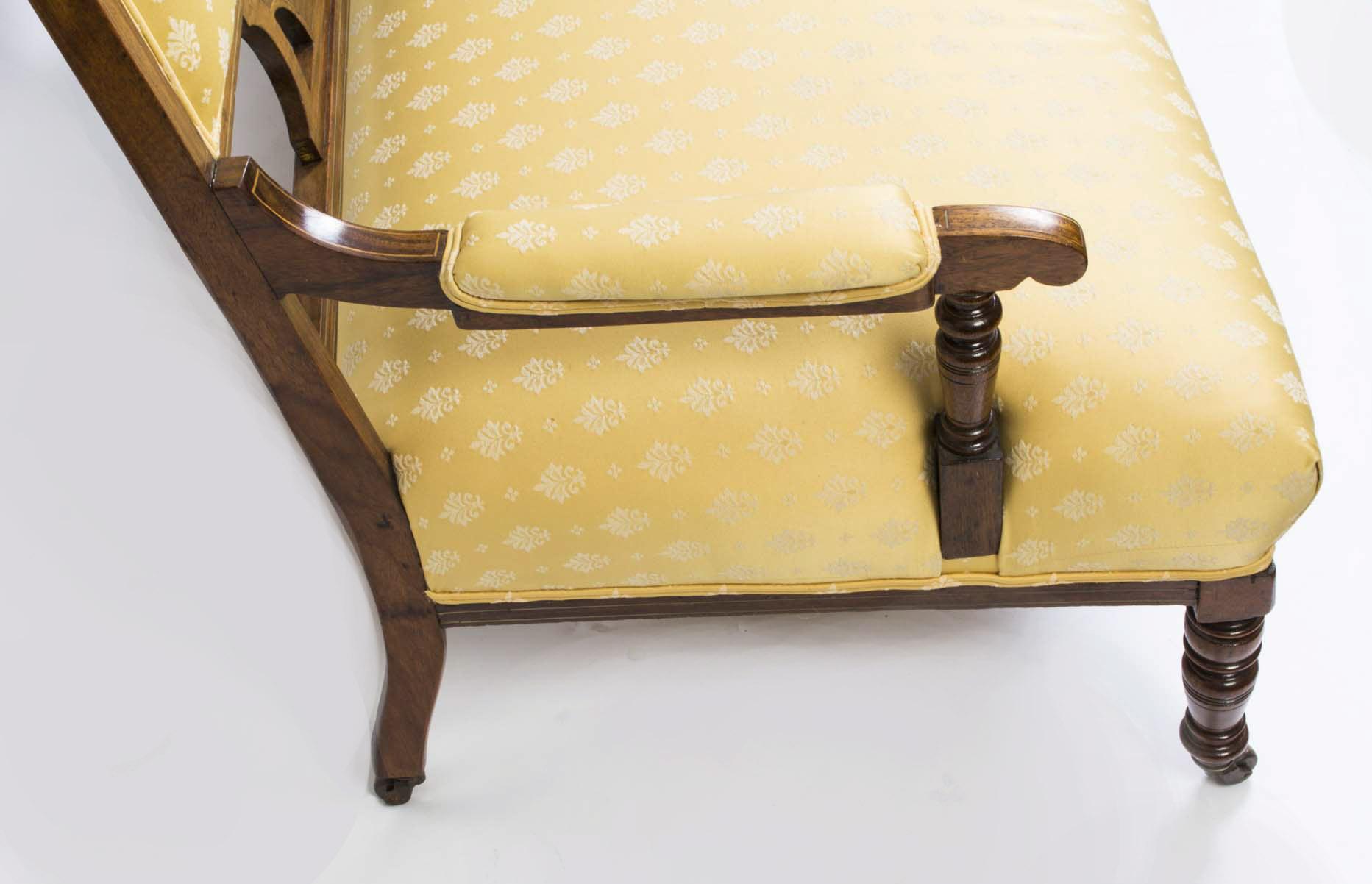 Regent antiques sofas and stools antique edwardian for Antique chaise sofa