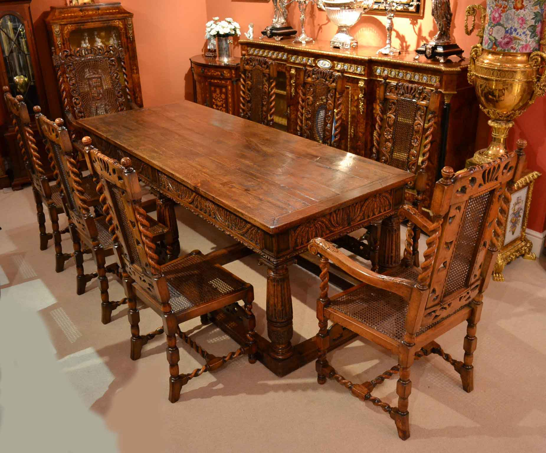 Antique Solid Oak Ref No 03959b Regent Antiques