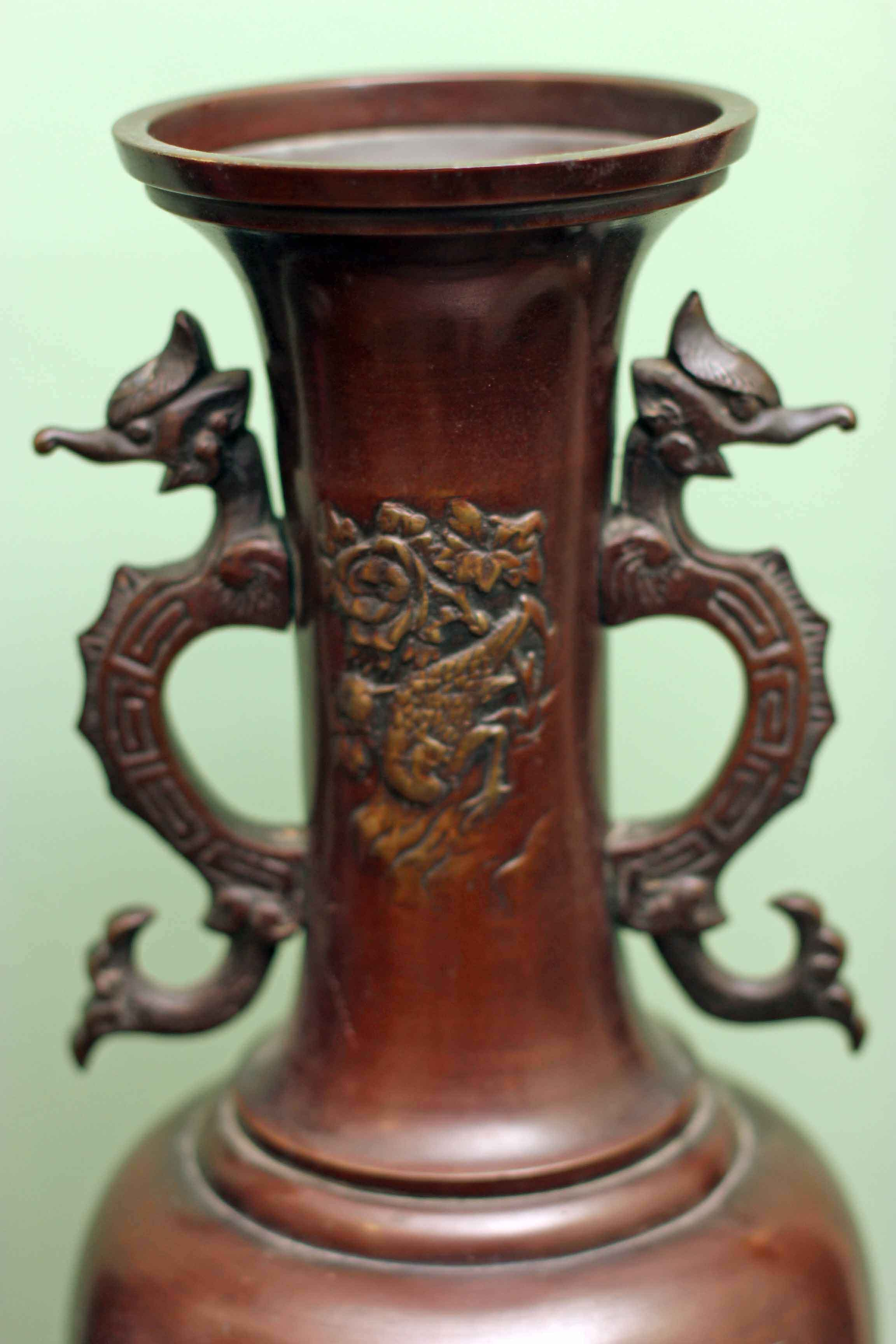 Regent Antiques Bronzes Antique Pair Bronze Chinese